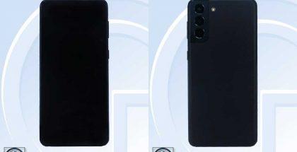 Samsung Galaxy S21 FE TENAAn kuvissa.