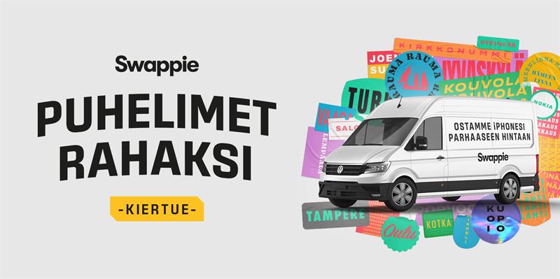 Swappie ostaa iPhone-puhelimia jatkossa myös kiertävän auton kautta.