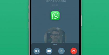 WhatsAppin uusi puhelunäkymä. Kuva: 9to5Mac.