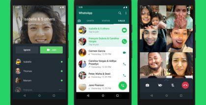 WhatsAppin ryhmäpuheluihin voi jatkossa liittyä myös niiden jo alettua.