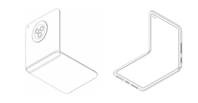 Tällainen Xiaomin taittuvanäyttöisen simpukkapuhelimen desgin paljastui jo hiljattain.