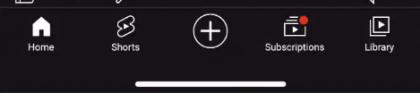 Shorts on saamassa oman välilehtipainikkeensa YouTube-sovellus alareunan navigaatiopalkkiin.