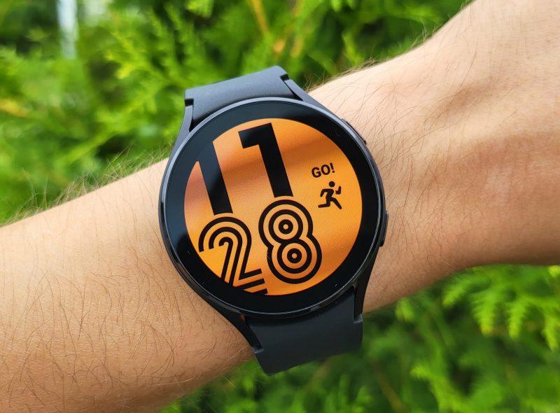 Samsung Galaxy Watch4 on siro ja kevyt.