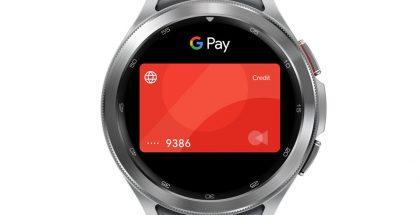 Google Pay Samsungin Wear OS -älykellossa.