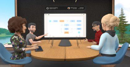 Facebook on esitellyt Horizon Workrooms -palvelun virtuaalitapaamisiin.