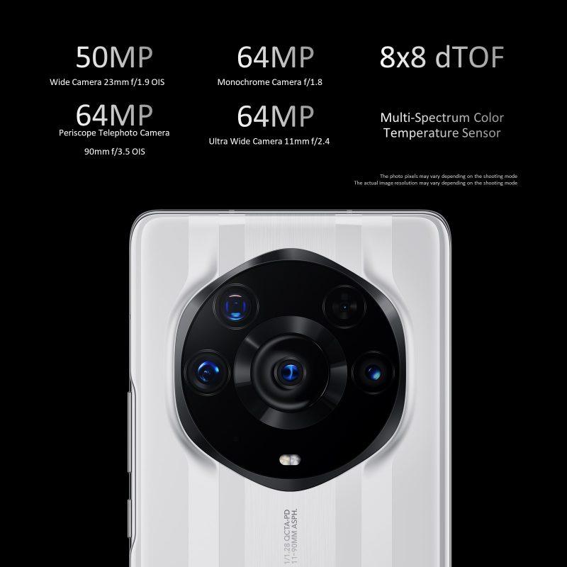 Honor Magic3 Pro+:n takakamerat.