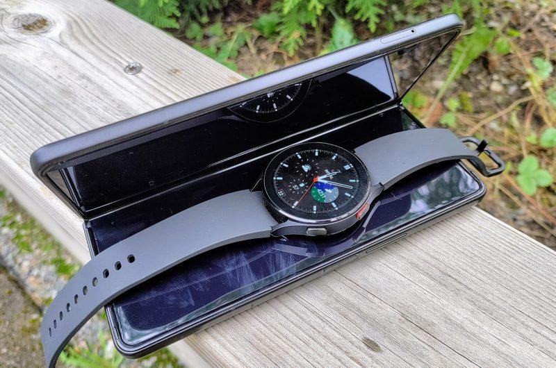 Samsung Galaxy Watch4 soveltuu etenkin Samsung-puhelinten kanssa käytettäväksi.