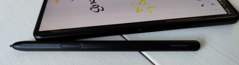 S Pen Fold Editionissa on yksi painike.