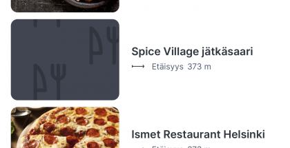 ePassi ja näin tätä nykyä myös Finnair Plus -pisteet käyvät maksutapana laajasti eri ravintoloissa.