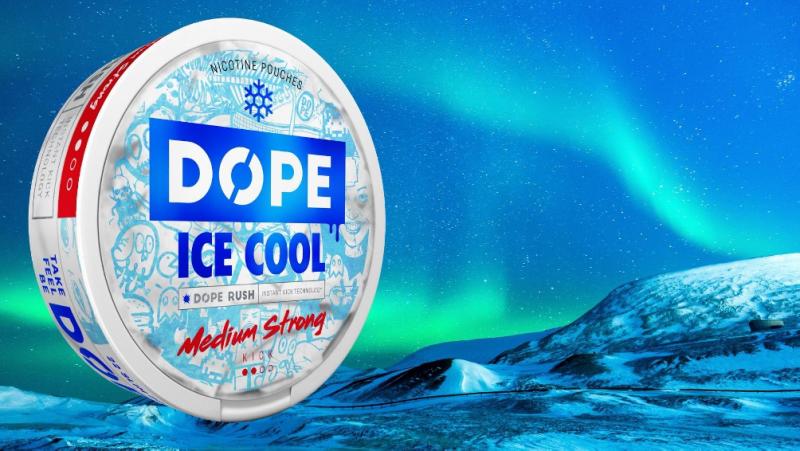Yksi Suomen suosituimmista nikotiininuuskamerkeistä on Dope.