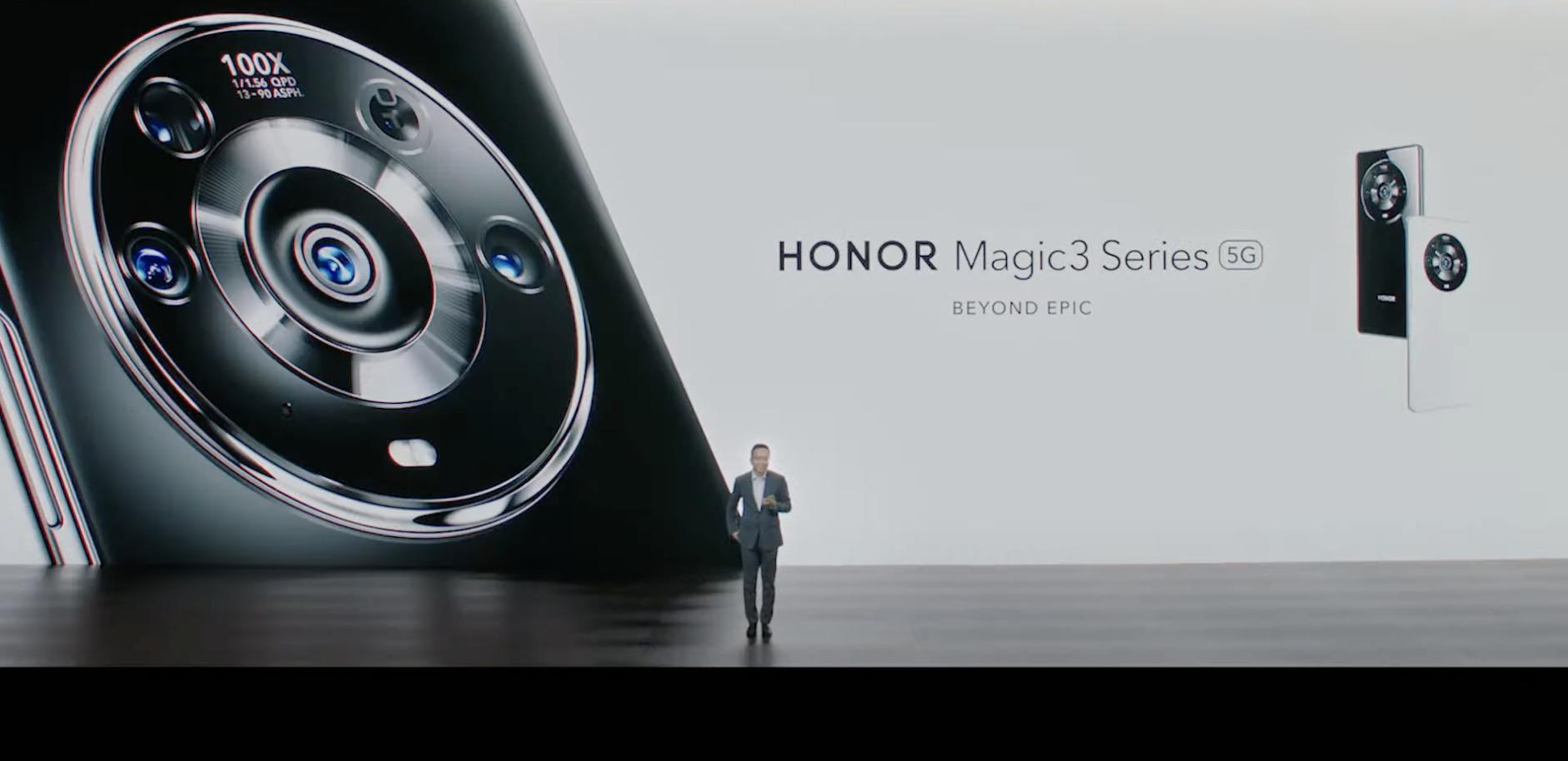 Honor julkisti Magic3-sarjan huippupuhelimet.