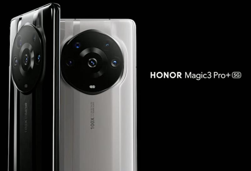 Honor Magic3 Pro, Ceramic Black ja Ceramic White.
