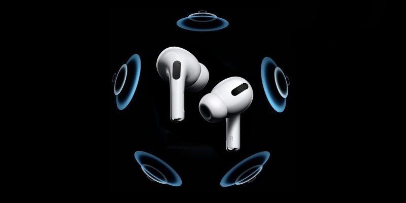 AirPods Pro -kuulokkeet tukevat tilaääntä.