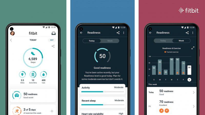 Fitbit Premium -ominaisuus Daily Readiness.