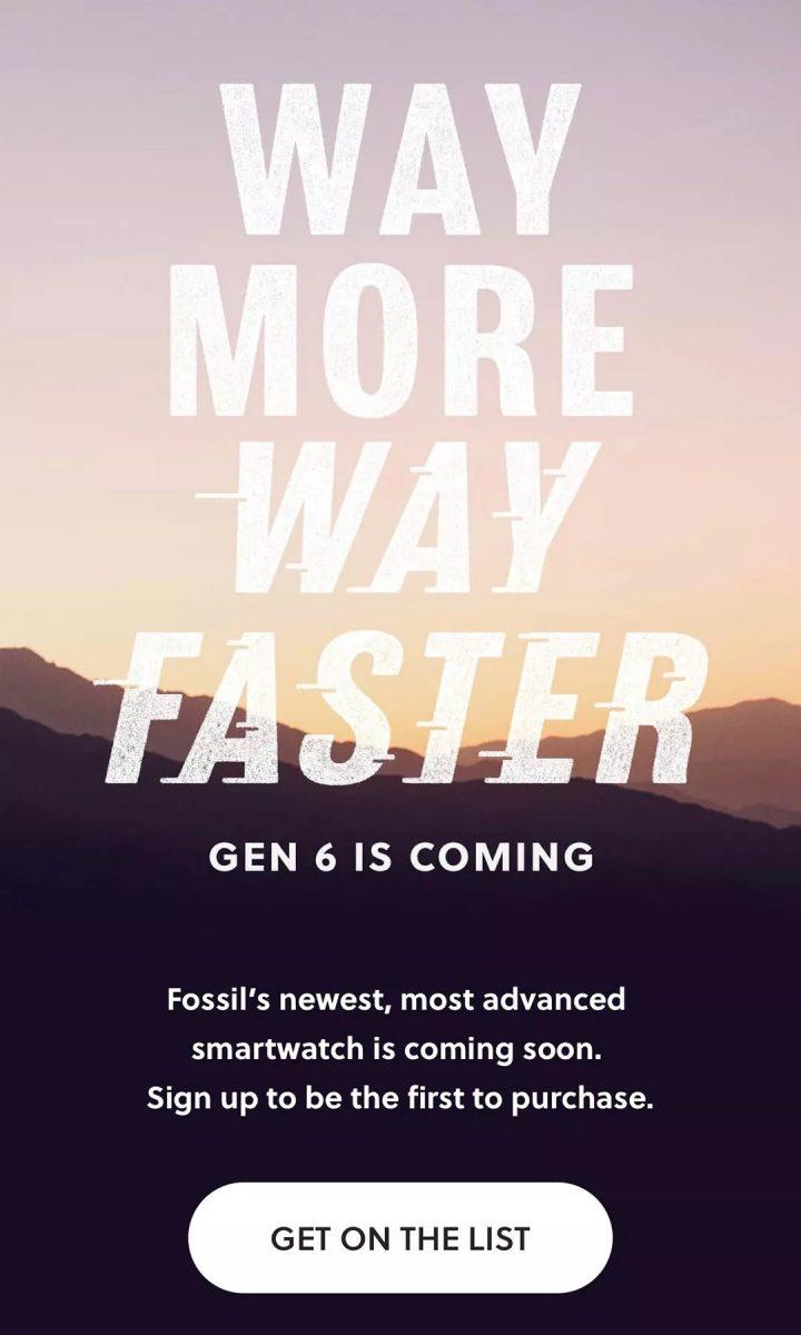 Fossil vihjaa tulevasta älykellojulkistuksesta.