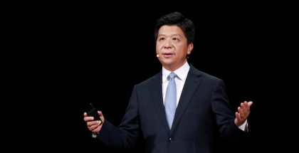 Huawein johtokunnan puheenjohtaja Guo Ping.