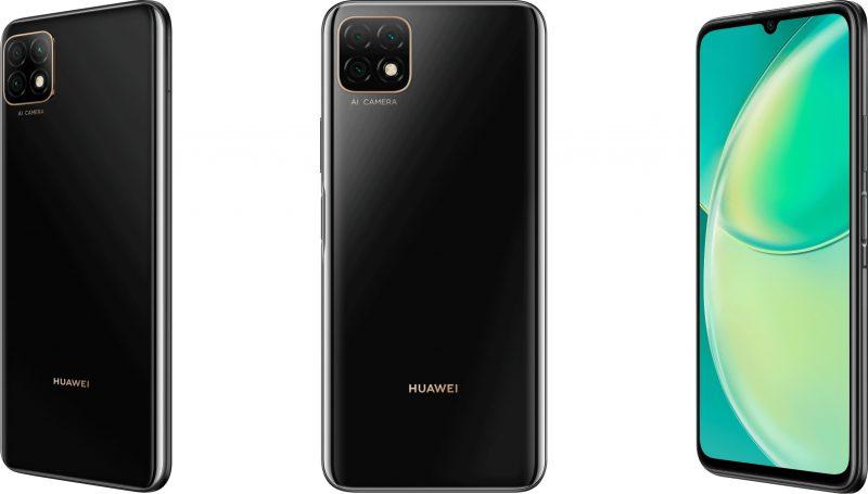 Huawei Nova Y60 mustana.