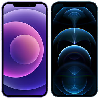 iPhone 12 ja iPhone 12 Pro.