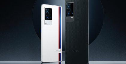 iQOO 8 -sarja tulee myös BMW M Motorsport -erikoisversiona.