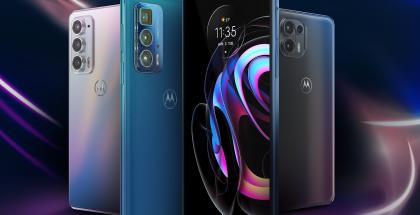 Motorola Edge 20 -sarjan älypuhelimet.