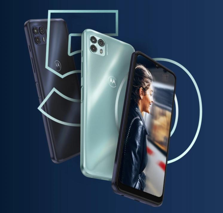 Aiemmin valituille markkinoille julkaistu Motorola Moto G50 5G.