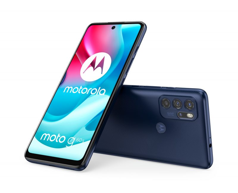 Motorola Moto G60S, Ink Blue.