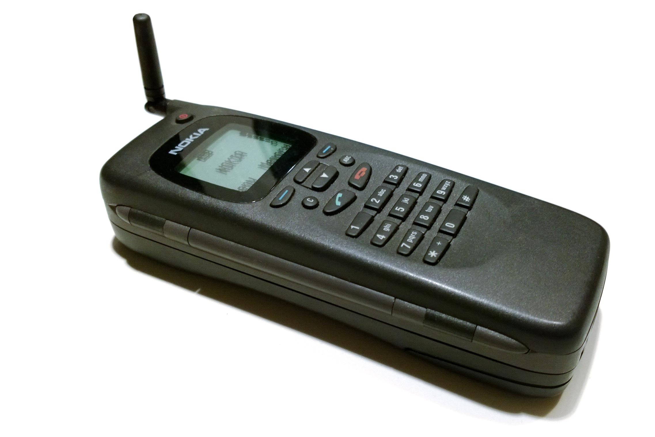Alkuperäinen Nokia 9000 Communicator suljettuna. Kuva: textlad / Flickr.