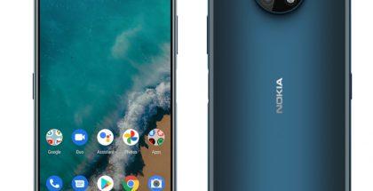 Sininen Nokia G50. Kuva: WinFuture.de.