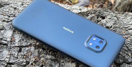 Nokia XR20 kestää kovempaakin käyttöä.