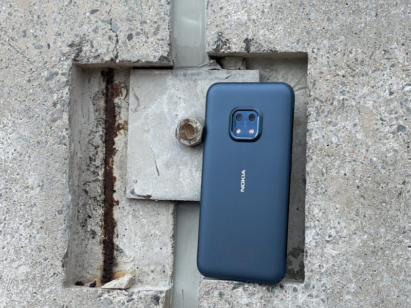 Nokia XR20 on on kestäväksi suunniteltu.
