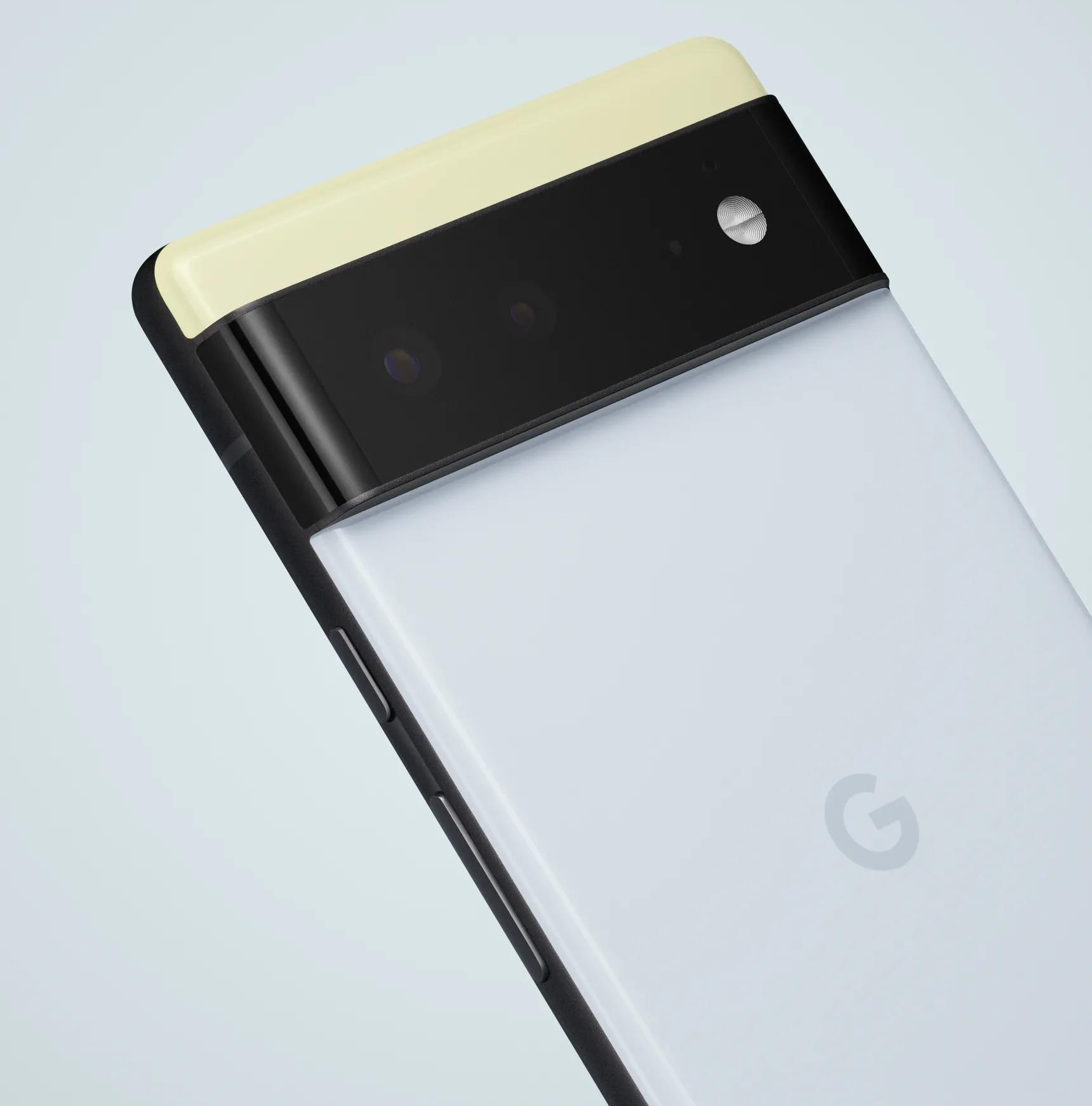 Pixel 6.