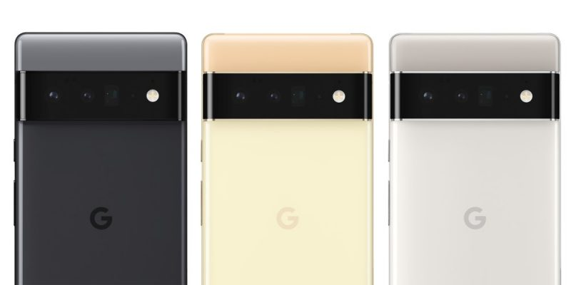 Pixel 6 Pron värivaihtoehdot.
