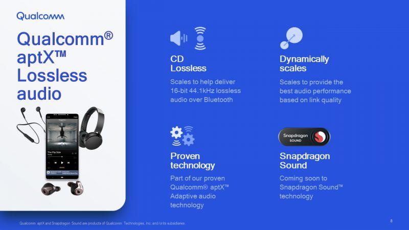 Qualcomm aptX Lossless -teknologia tuo häviöttömän äänenlaadun Bluetooth-kuulokkeisiin.
