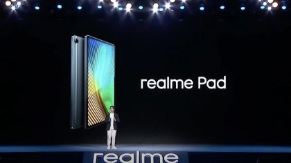 Realme Pad -tablettilaite on tulossa pian.