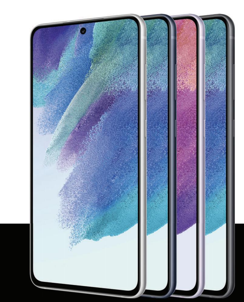 Samsung Galaxy S21 FE 5G. Kuva ohjekirjasta.