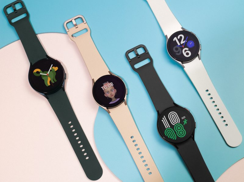 Samsung Galaxy Watch4:n värivaihtoehdot.