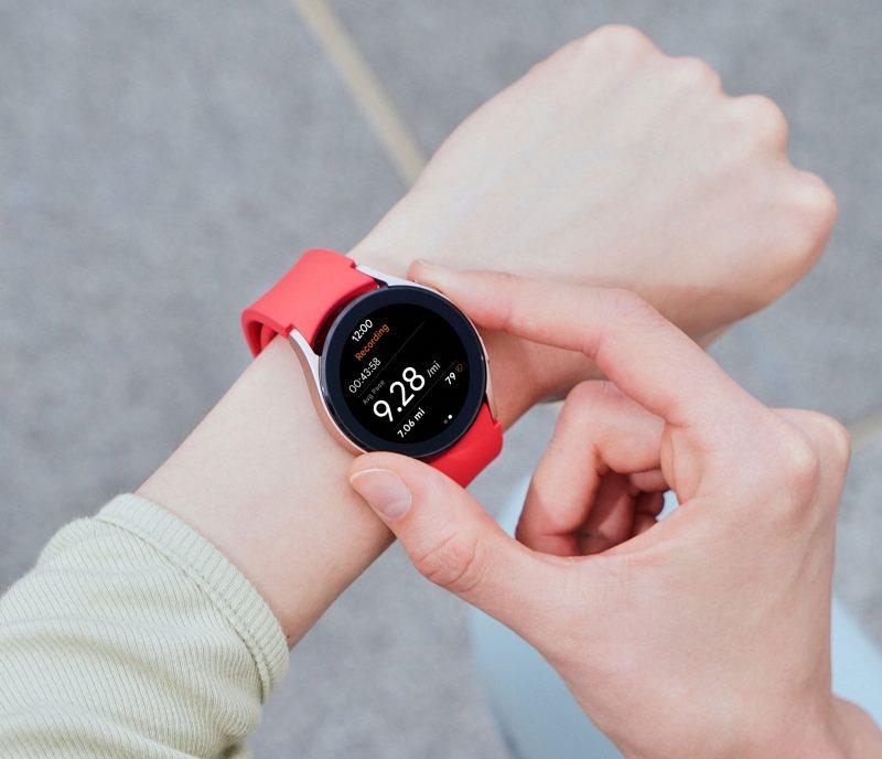 Harjoitustila Samsung Galaxy Watch4:ssä.