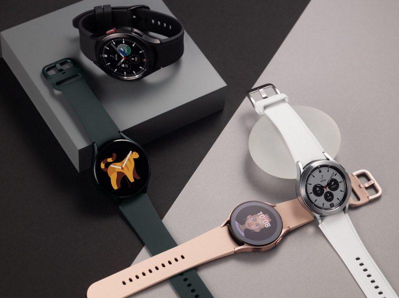 Galaxy Watch4 ja Galaxy Watch4 Classic -kelloja.