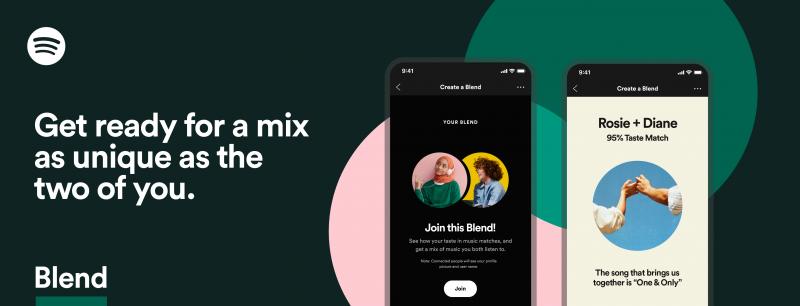 Spotifyssa voi nyt luoda yhdistetyn soittolistan.