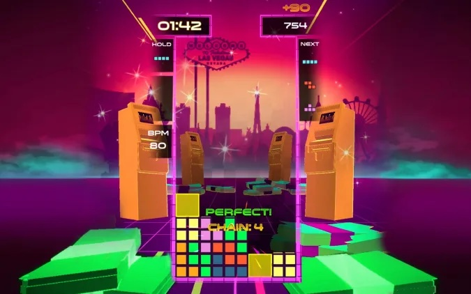Tetris Beat.