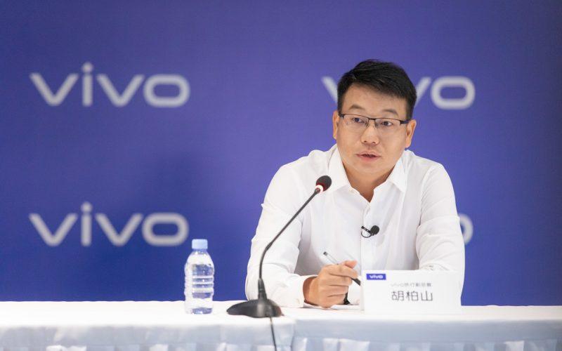 Vivo-johtaja Hu Baishan.