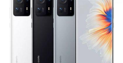 Xiaomi Mi MIX 4 eri värivaihtoehtoina.