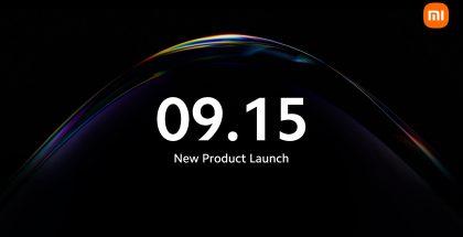 Xiaomin tilaisuus on edessä 15. syyskuuta.