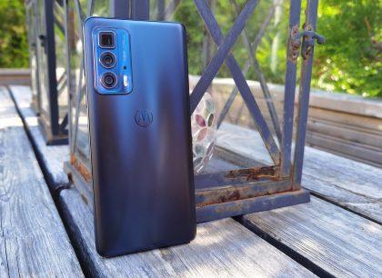 Motorola Edge 20 Pron käyttö on sulavaa.