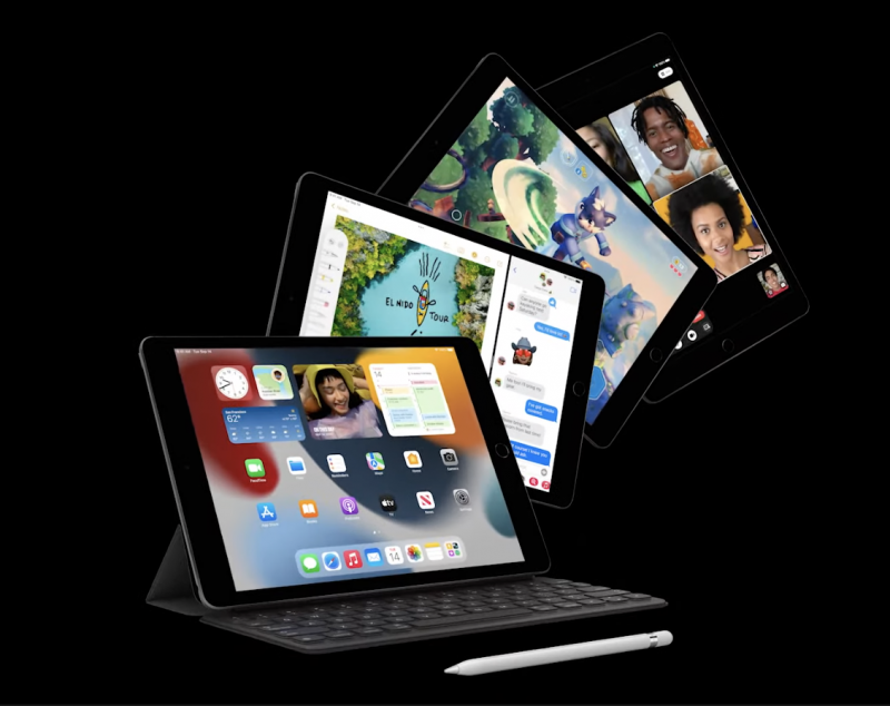 9. sukupolven iPad.