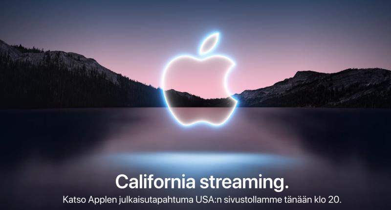 Applen ilmoitus tapahtumasta.