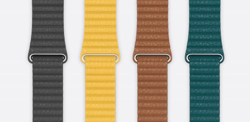 Tällaista Leather Loop -nahkaranneketta Apple ei enää myy.
