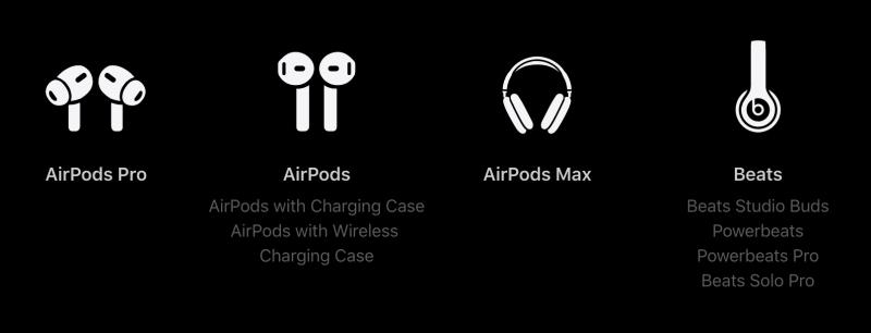 6 kuukauden ilmaiseen Apple Music -kokeilujaksoon oikeuttavat kuulokkeet.