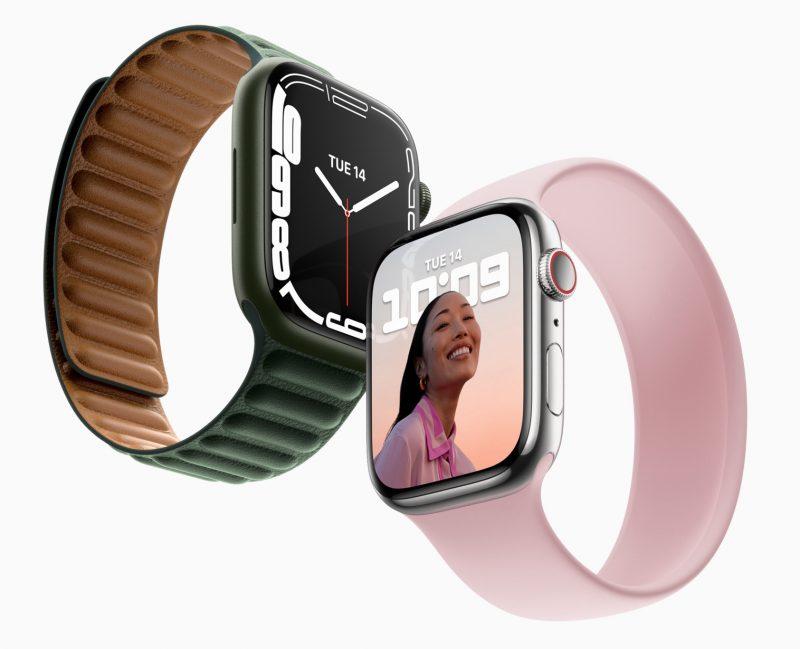 Apple Watch Series 7.