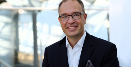 DNA:n uusi toimitusjohtaja Jussi Tolvanen.